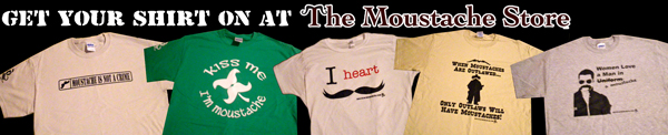 Shirts on the Moustache Store
