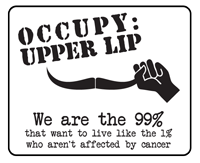 Occupy Upper Lip